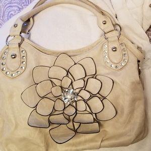 Handbags - Beige Handbag